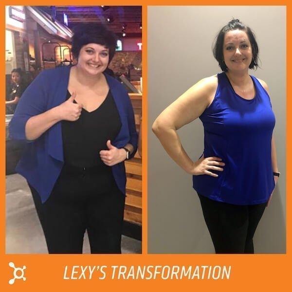 Ladies Body Transformation at Orangetheory Fitness
